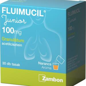 Fluimucil Junior 100 mg granulátum  30x1 g