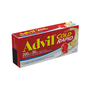 Advil Cold Rapid 200 mg/30 mg lágy kapszula 10 db