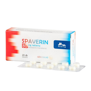 Spaverin 40 mg tabletta 20x