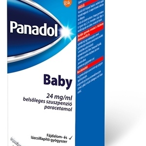 Panadol Baby 24 mg/ml belsőleges szuszp. 100 ml