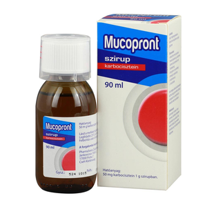 Mucopront 50 mg/g szirup 90ml