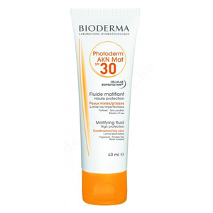 Bioderma Photoderm AKN Mat krém SPF30 40ml
