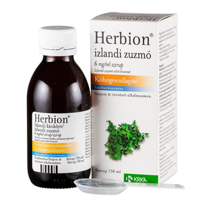 Herbion izlandi zuzmó 6 mg/ml szirup 1x150 ml