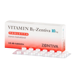 Vitamin B1-Zentiva 10 mg tabletta 20x