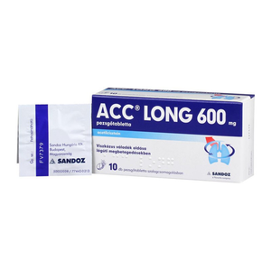 ACC Long 600 mg pezsgőtabletta 10 db