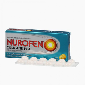 Nurofen Cold and Flu 200 mg/30 mg filmtabletta 12x