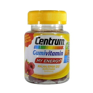 Centrum My Energy Gumivitamin Málna Eper 30x