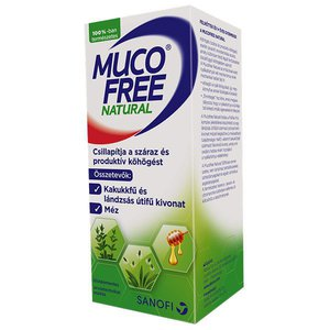 MucoFree Natural szirup 128g (94ml)