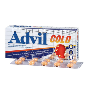 Advil Cold 200 mg/30 mg bevont tabletta 20x