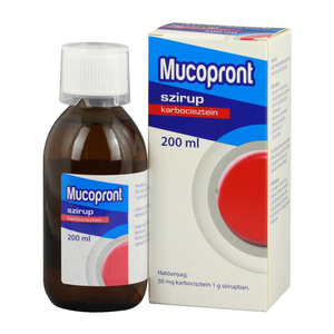 Mucopront 50 mg/g szirup 200ml